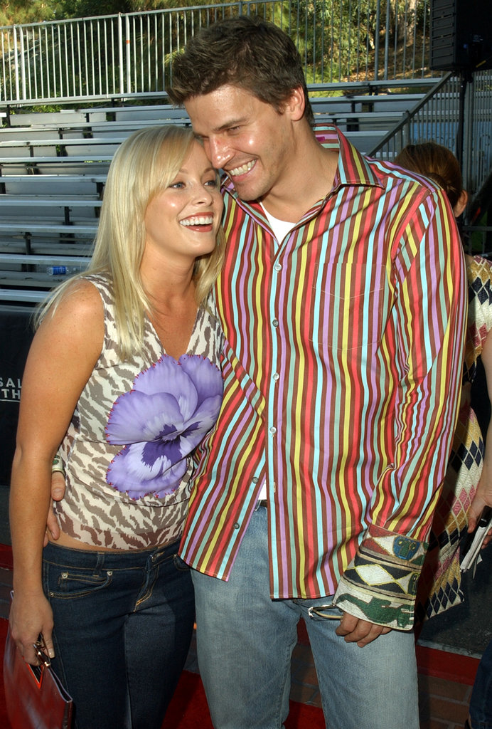 Jaime Bergman and David Boreanaz, 2001