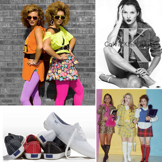 Fashion Flashback: Totally Rad Trends From the '80s and '90s