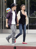 In September 2011, Justin Bieber and Selena Gomez held hands during a shopping date in LA.
