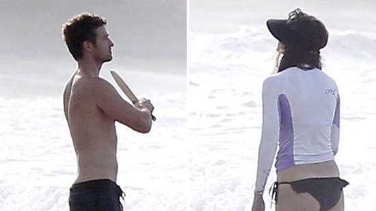 Video: See Jessica and Justin Get Sporty at the Beach!