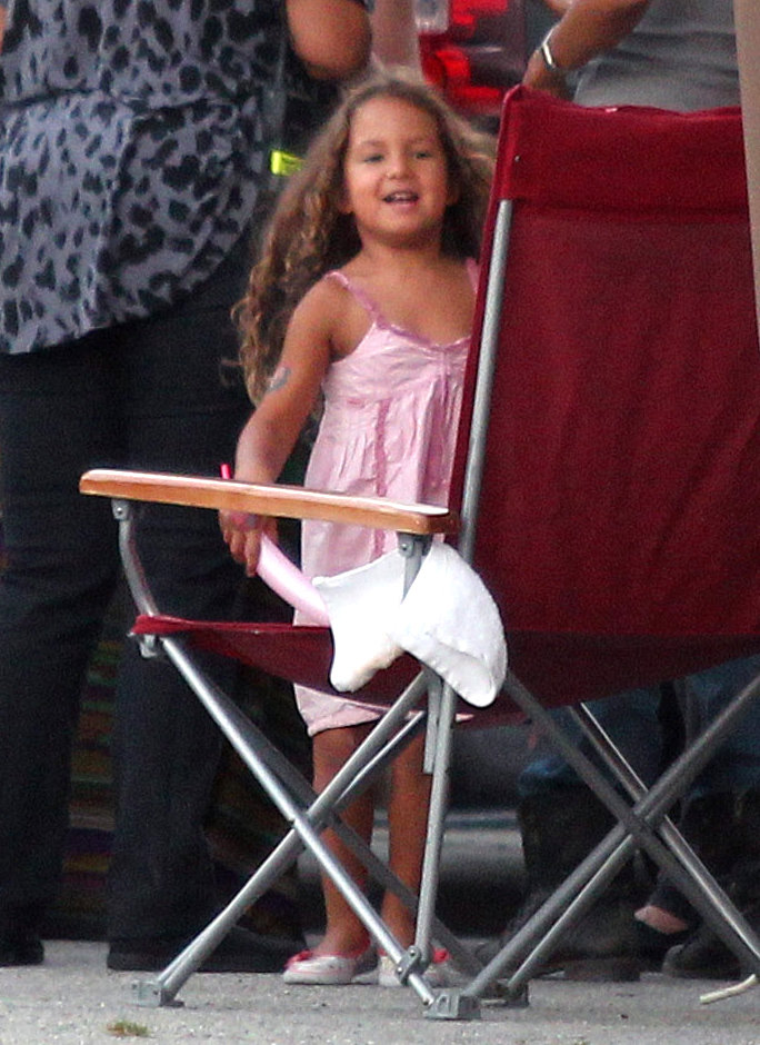 Injured Halle Berry Gets Some TLC From Daughter Nahla