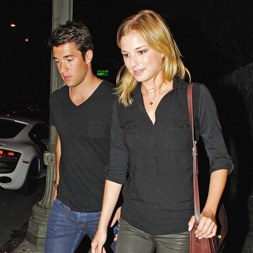 Emily VanCamp and Josh Bowman at Playhouse in LA | Pictures