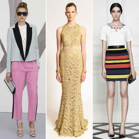 This is your guide to the biggest, best trends from the Resort 2013 collections.