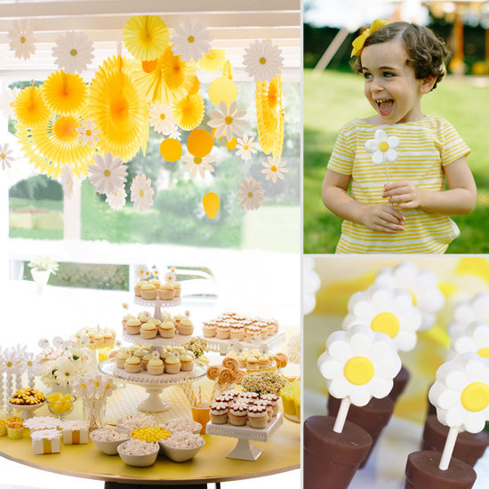 Daisy's Yellow Summer Celebration