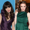 Zooey Deschanel&#039;s Red Carpet Nail Art
