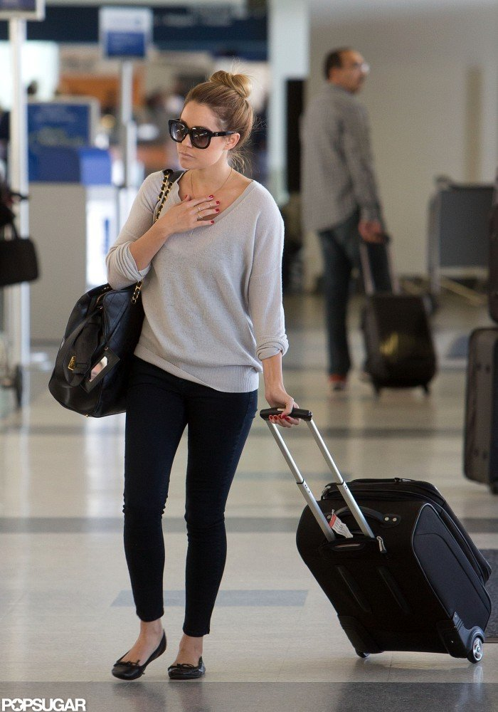 Lauren Conrad Prepares to Fly the Friendly Skies