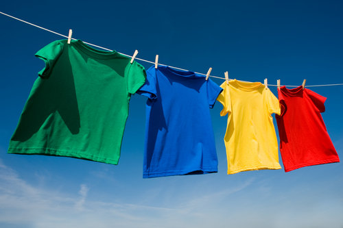 Dry Your Clothes on a Clothesline