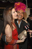 George Lopez stepped out in March 2005 to support her at the LA premiere of Miss Congeniality 2.