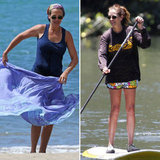 Julia Roberts Paddleboards Her Way Through a Hawaiian Vacation