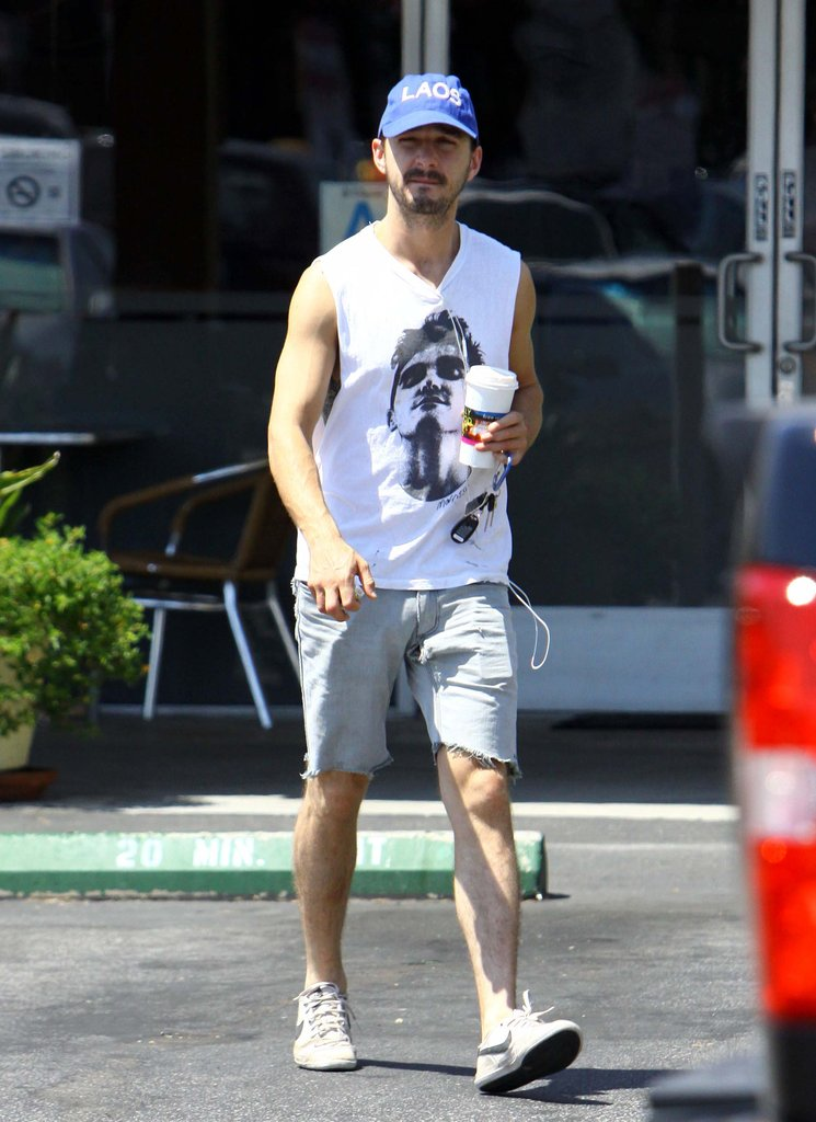 Shia LaBeouf Gets to Work on a Different Kind of Gig
