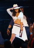 Jennifer Lopez heated up the 2001 MTV Video Music Awards in September.