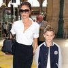 Victoria Beckham Shopping in France With Romeo