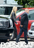 """Feisty"" Britney Spears Heats Up Miami With Jason and The X Factor"