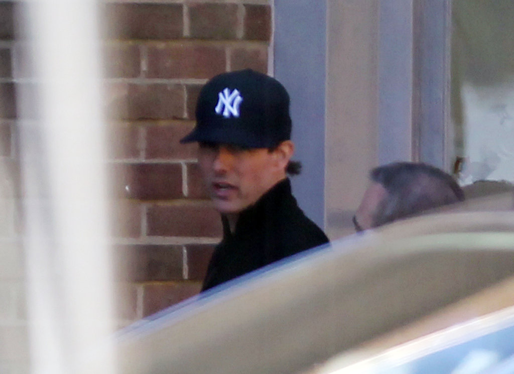 Tom Cruise wore a Yankees hat.