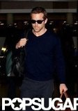 Ryan Reynolds carried his own bags at LAX.