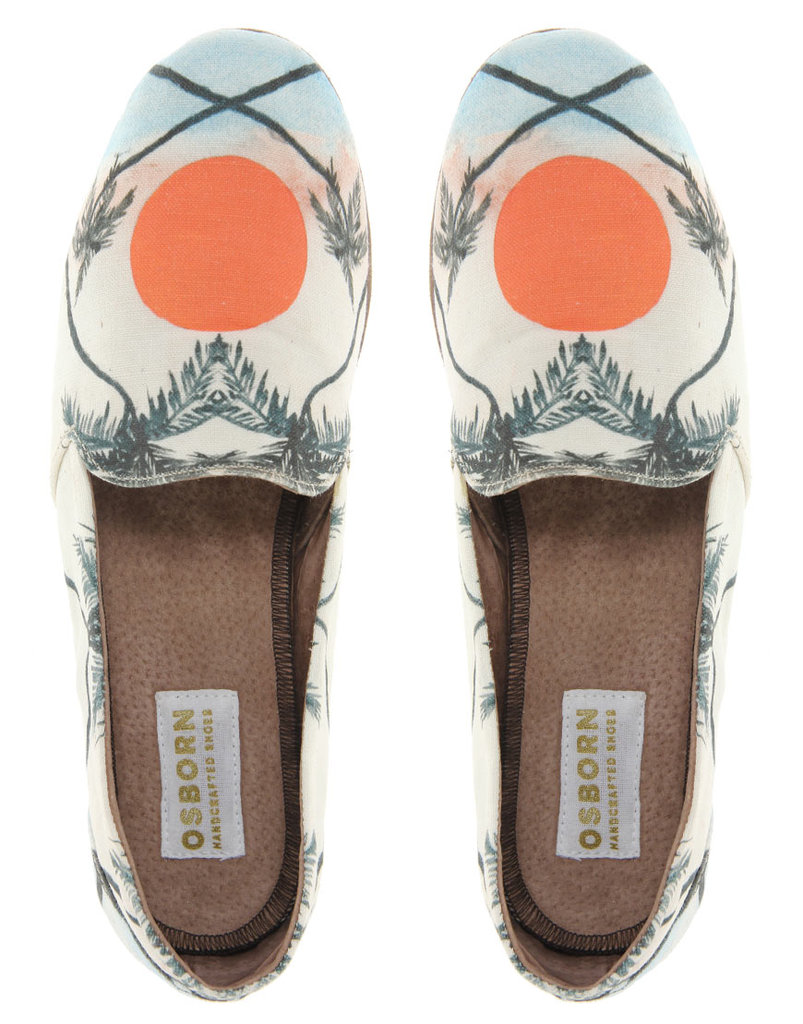 These sunset-print canvas flats are perfect for Summer, and would look great with a chambray dress. Osborn Sunset Loafers ($116, originally $232)