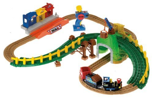 Fisher-Price GeoTrax Remote Control Timbertown Railway ($80)