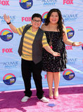 Rico and Raini Rodriguez