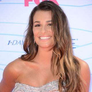 Lea Michele's Beauty Look at the 2012 Teen Choice Awards