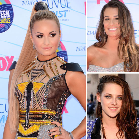 The Best Beauty Looks From the 2012 Teen Choice Awards
