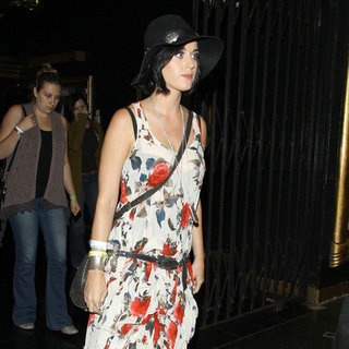 Katy Perry Floral High Low Dress