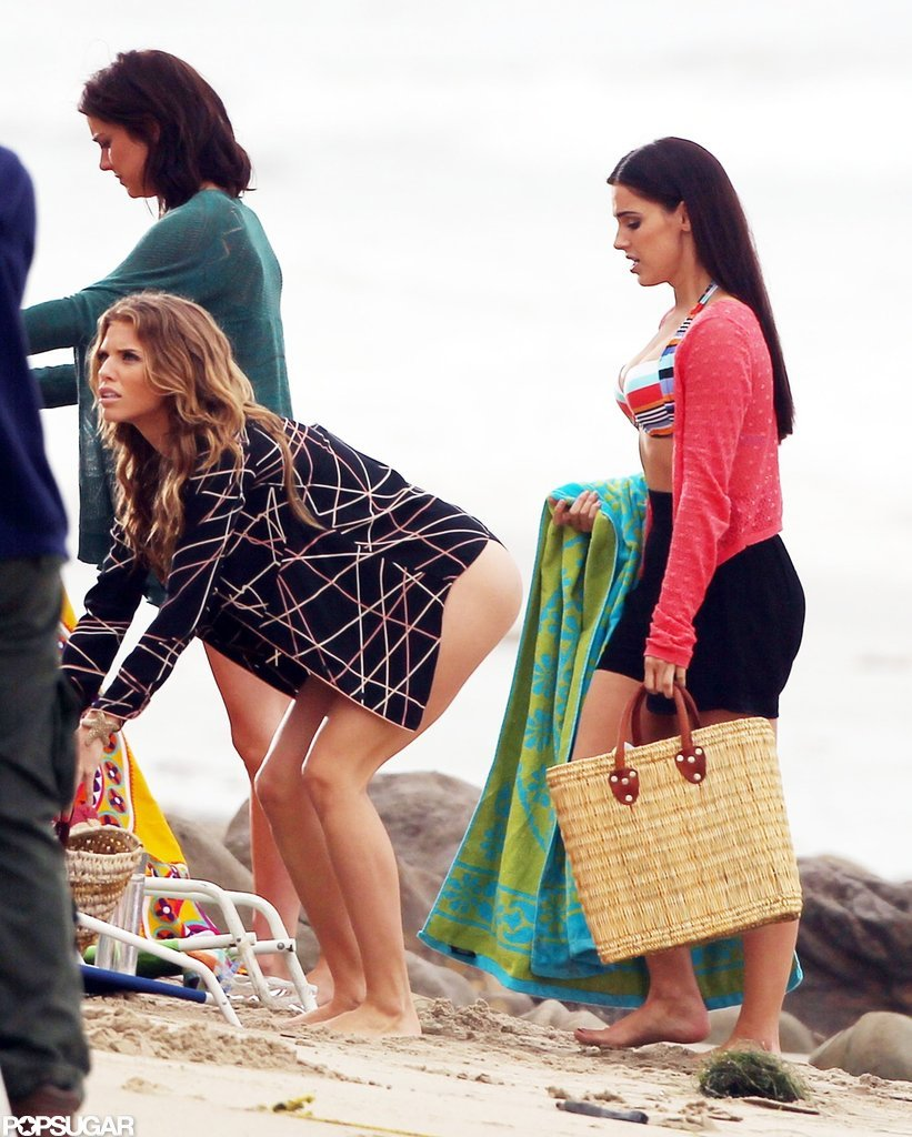 AnnaLynne McCord, Jessica Stroup, and Jessica Lowndes hung out.