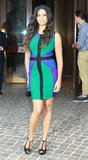 Camila Alves struck a pose in NYC.