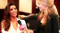"Eva Longoria Reveals Why She's a ""Cream Junkie"""