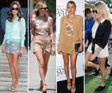 Fabulous Celebrity Scalloped-Shorts Looks to Wear All Summer