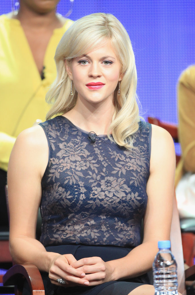 Actress Georgia King addressed the press at The New Normal's Summer 2012 panel.