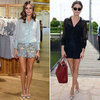 Olivia Palermo Wearing Shorts