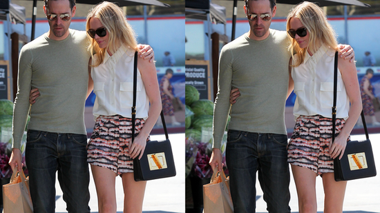 Kate Bosworth Perfects Her Daytime Polish in Printed Shorts