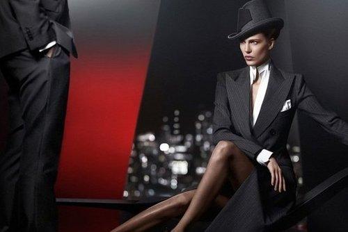 Donna Karan Fall 2012 Ad Campaign
