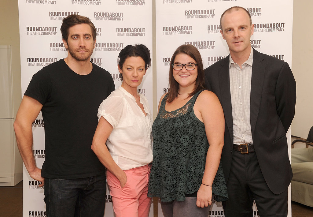 Jake Gyllenhaal posed with the cast of If There Is I Haven't Found It Yet.