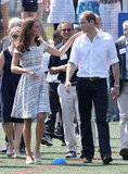 Kate Middleton and Prince William Get Sporty and Sweet Pre-Olympics
