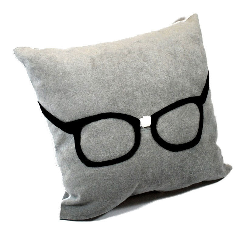 Geek Glasses Pillow