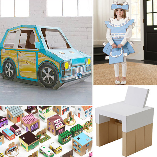 9 Cool Cardboard Finds For Kids