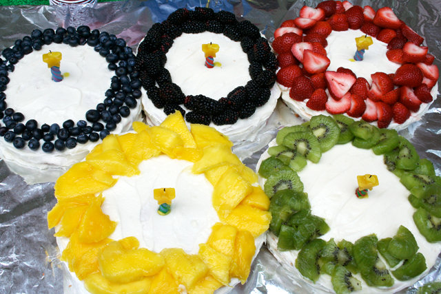 Olympic Ring Cakes