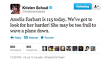 Kristen urges us to continue the hunt for Amelia Earhart.