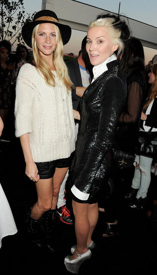 Poppy Delevingne and Daphne Guinness