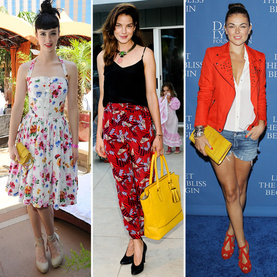 10 Bold Yellow Celebrity Bags to Carry All Summer!