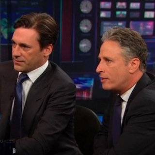 Jon Hamm and Will Ferrell on The Daily Show