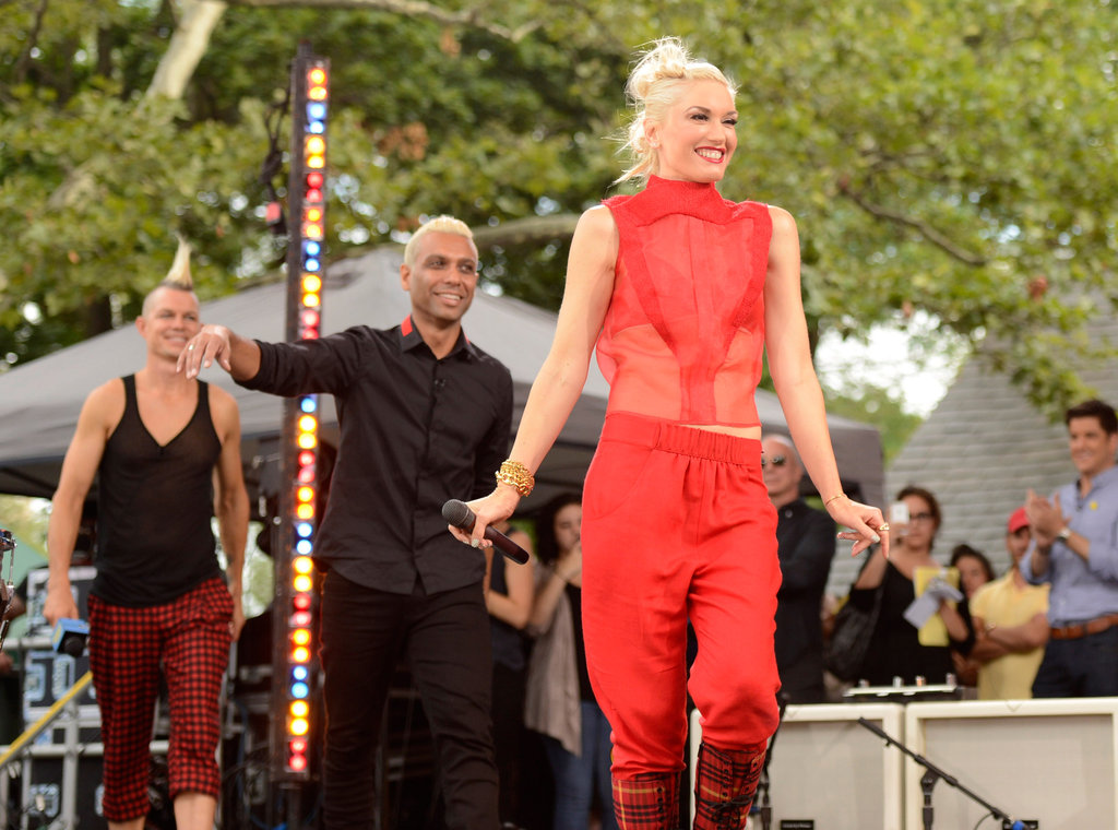 Gwen Stefani Rocks With No Doubt and Talks Kingston and Zuma