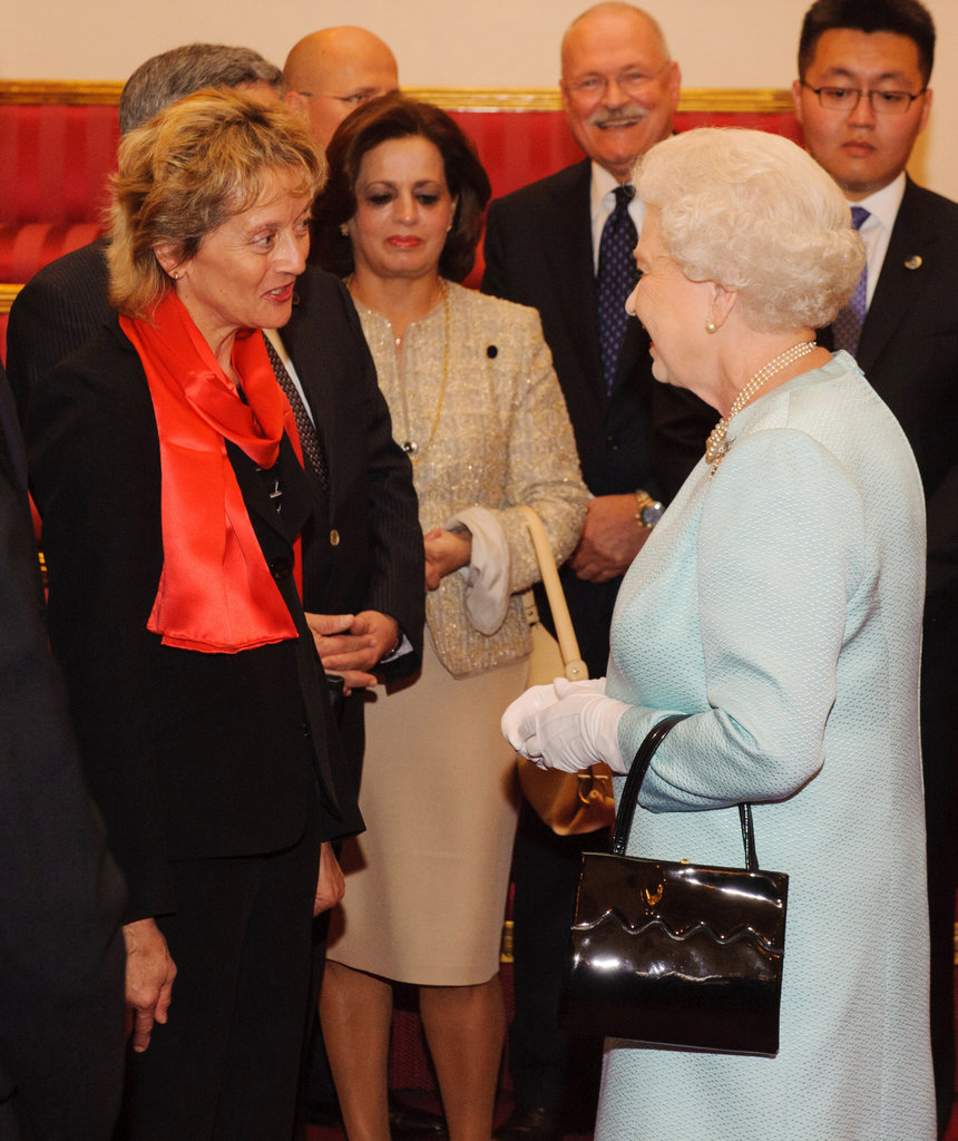Kate and the Queen Host a Pre-Olympics Reception