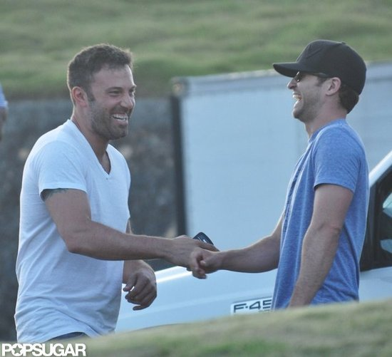 Ben Affleck and Justin Timberlake looked like friends.