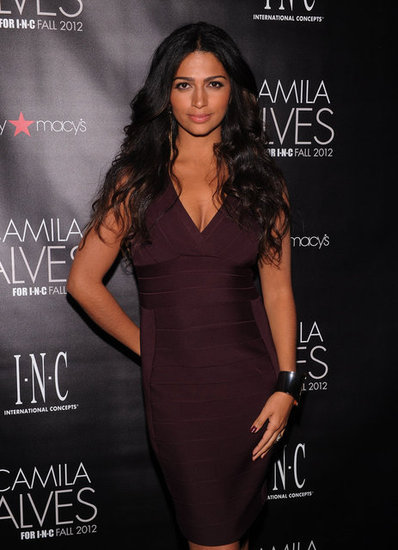 Camila Alves stepped out for a party in her honor in NYC.