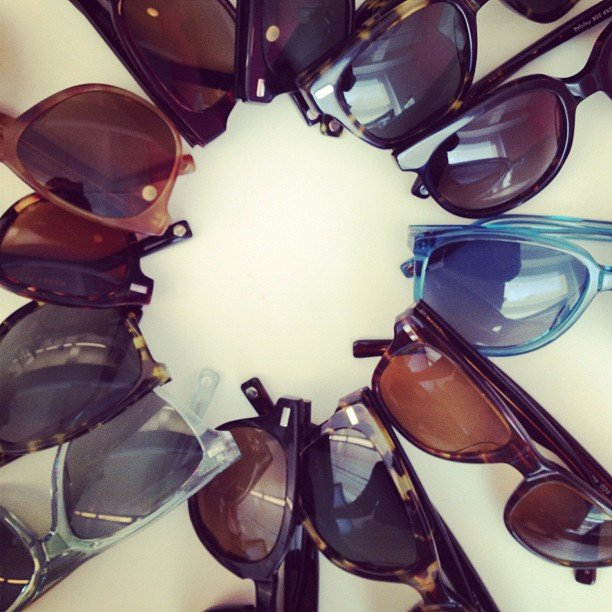 Warby Parker shades for every day of Summer.