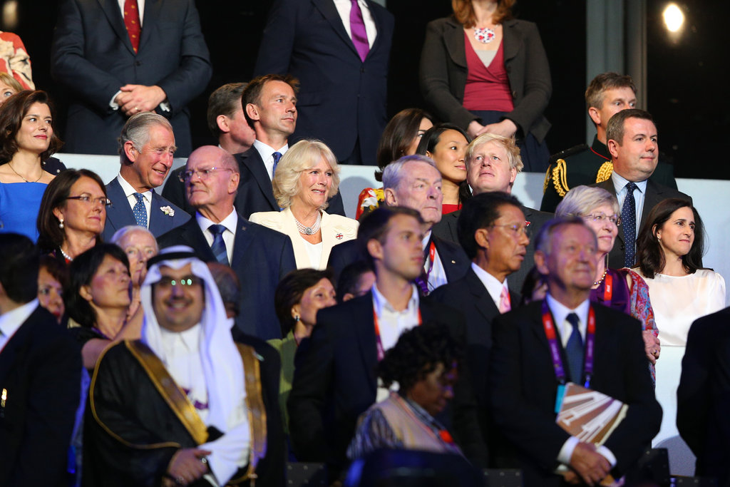 Royals and world leaders sat together for the event.