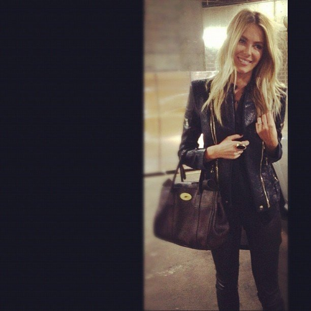 Jennifer Hawkins modelled a stylish outfit. Source: Instagram user jenhawkins_