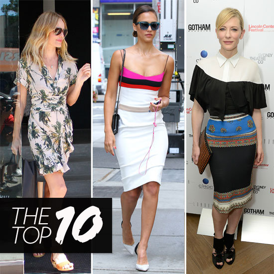 Top Ten Best Dressed Celebrities of the Week: Cate Blanchett, Kate Middleton & More